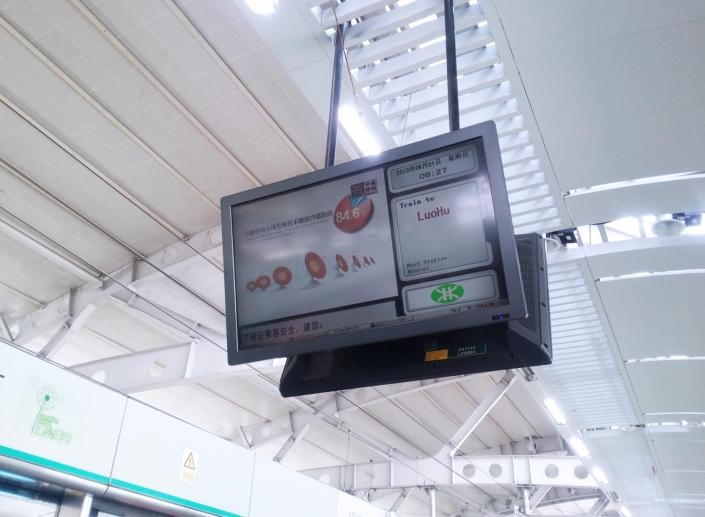 dual display screen