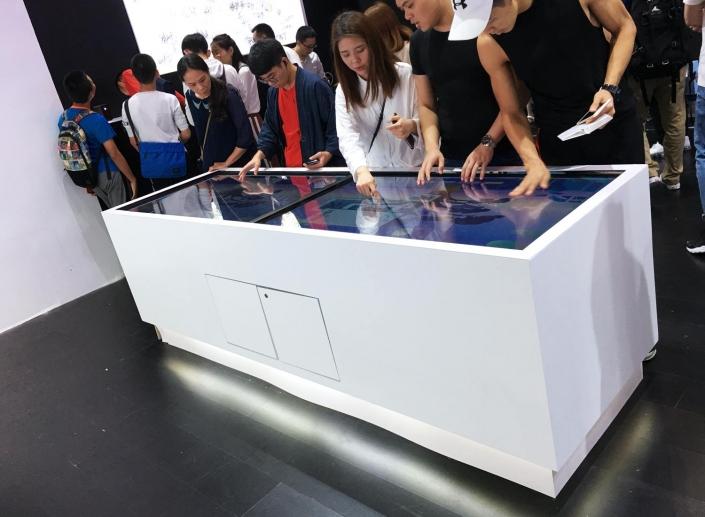 interactive museum displays
