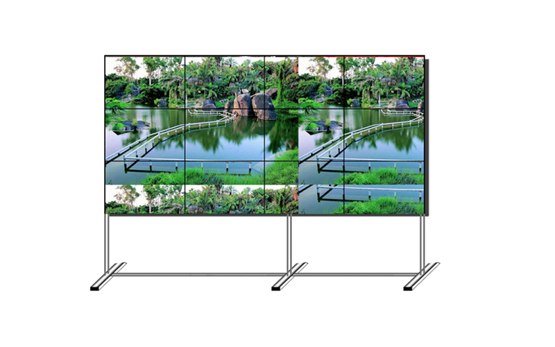 free standing video wall