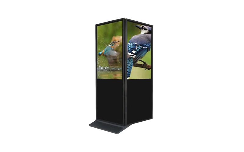 kiosk double screen