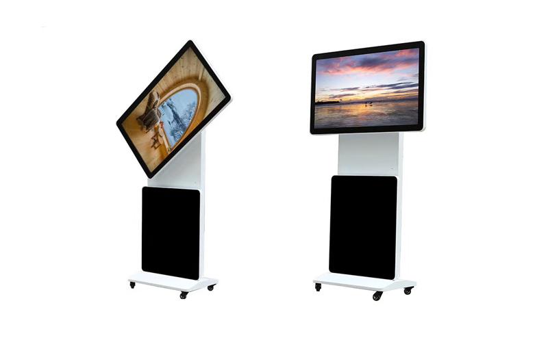 rotating standing kiosk