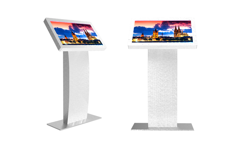 table advertising player