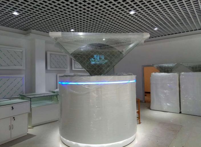 3d holographic showcase