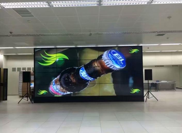 4k video wall 3d