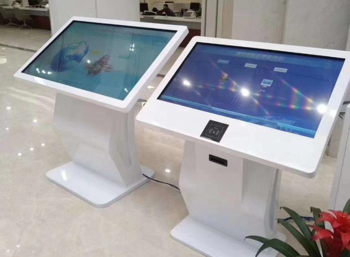 Multi touch screen kiosk
