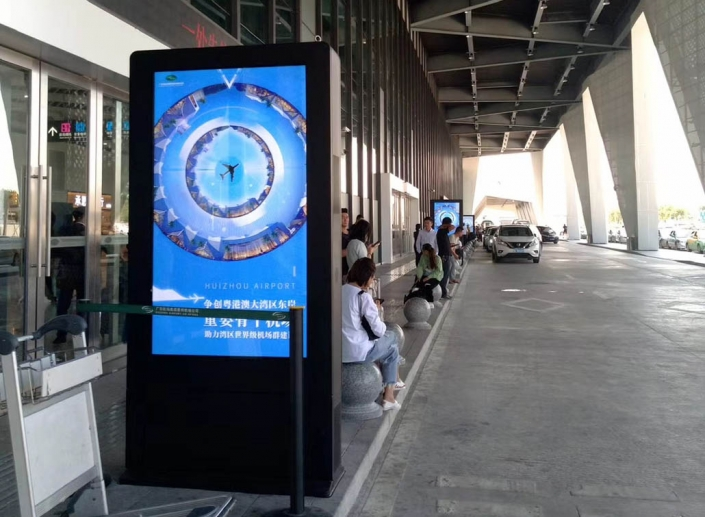 double sided 65 outdoor kiosk