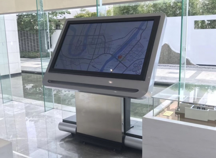 kiosk interactive map