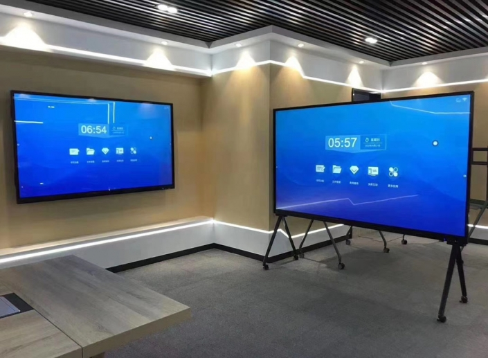 large touch screen displays
