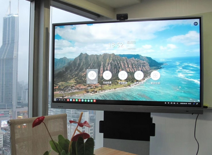 large touch screen monitor