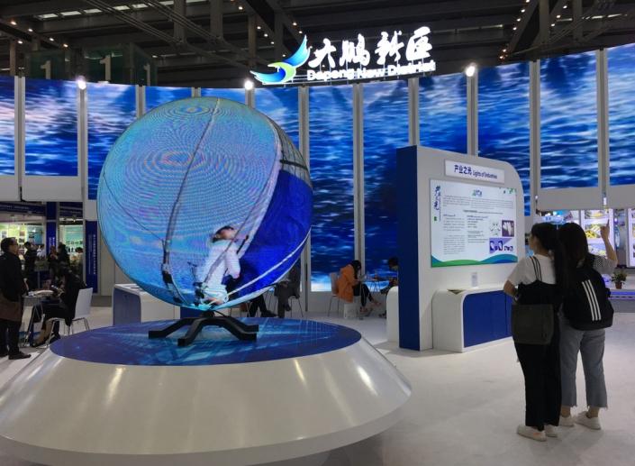led sphere display