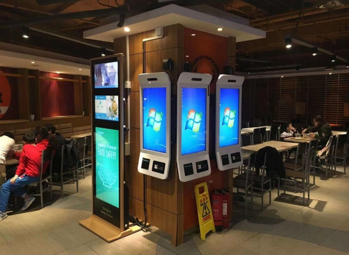 restaurant touch screen kiosk