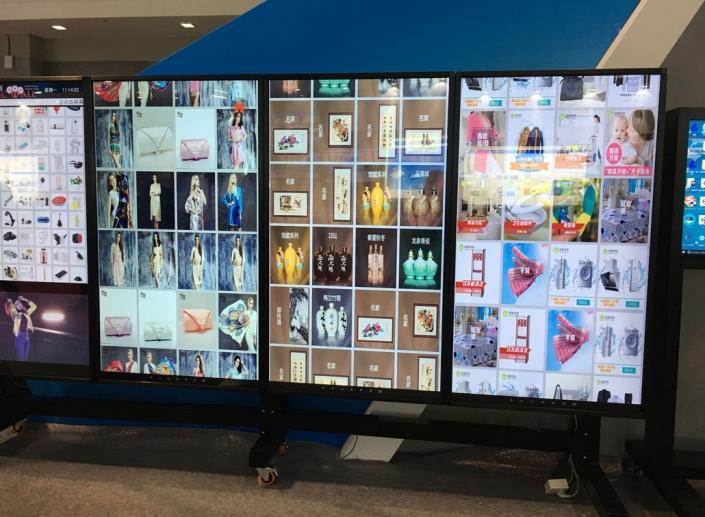 retail display video screens