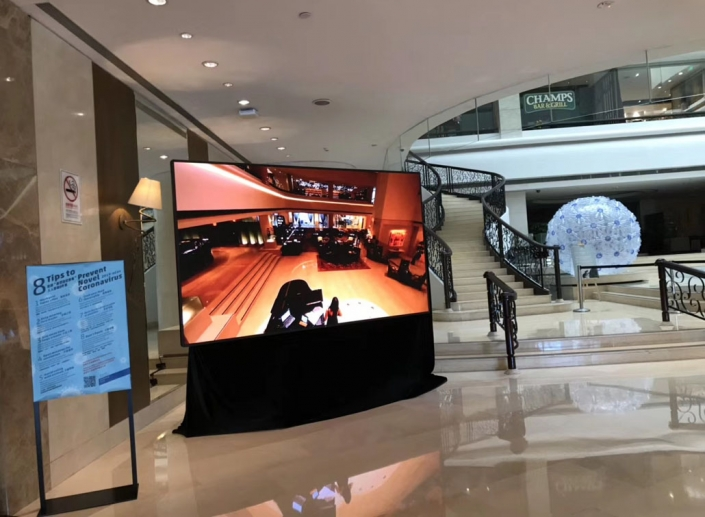 shopping mall led display screen