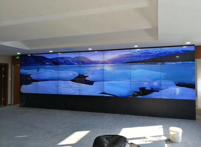 video wall small frame 55 inch