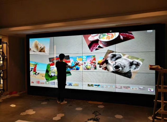 video wall touch screen