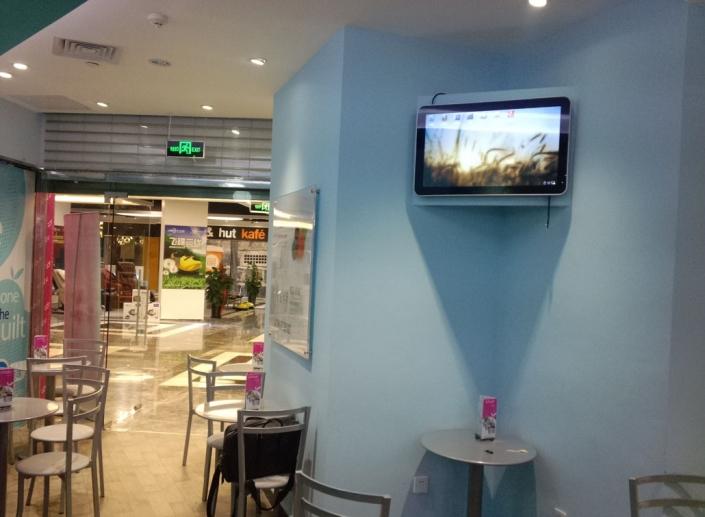 wall mounted advertising display
